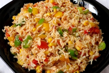 Corn and Salsa Rice
