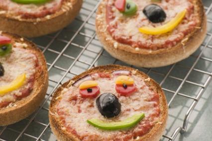 Quick English Muffin Pizza
