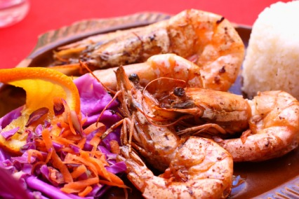 Hyderabadi Grilled Jumbo Prawns