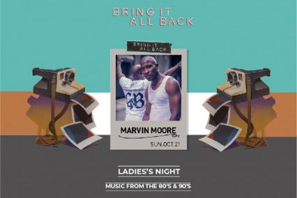 Iris Yas Presents Marvin Moore Live on Sunday 21st October
