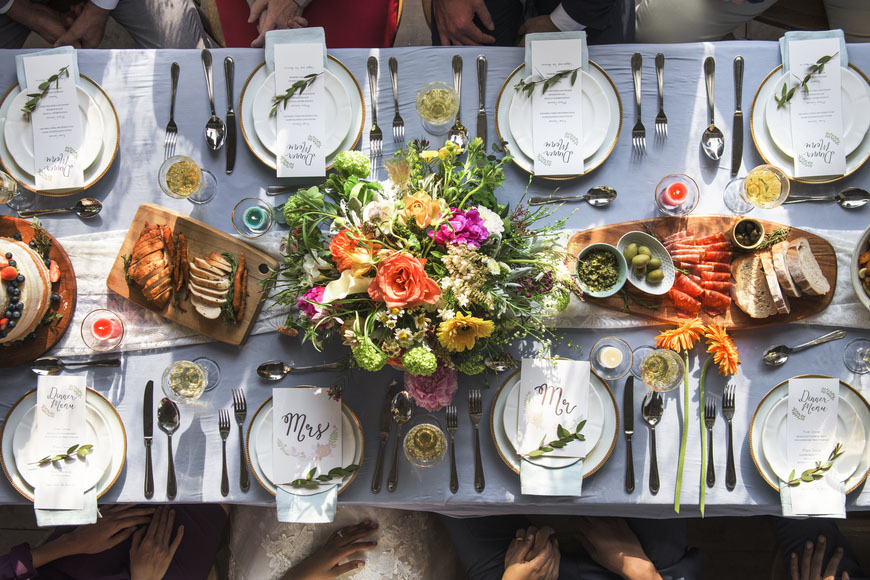 10 Wedding Food Ideas Your Guests Will Obsess Over